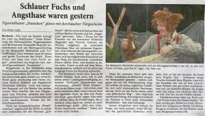 Presse - Wenn Fuchs und Hase sich Gute Nacht sagen