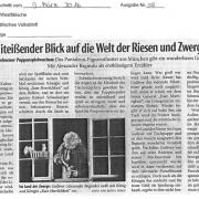 Presse - Gullivers Reisen